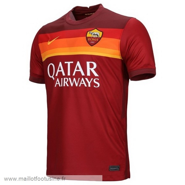 Thailande Domicile Maillot As Roma 2020 2021 Rouge Discount