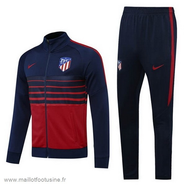 Survêtements Atlético Madrid 2020 2021 Bleu Marine Rouge Discount
