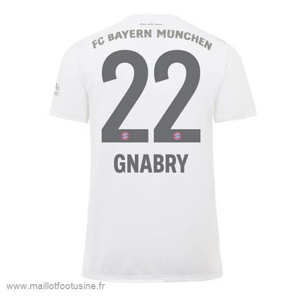 NO.22 Gnabry Exterieur Maillot Bayern Munich 2019 2020 Rouge Discount