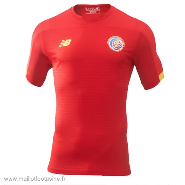Domicile Maillot Costa Rica 2019 Rouge Discount