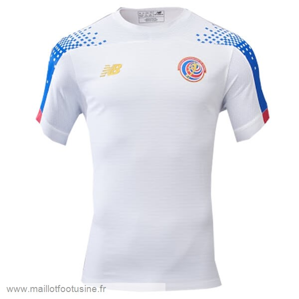 Exterieur Maillot Costa Rica 2019 Blanc Discount