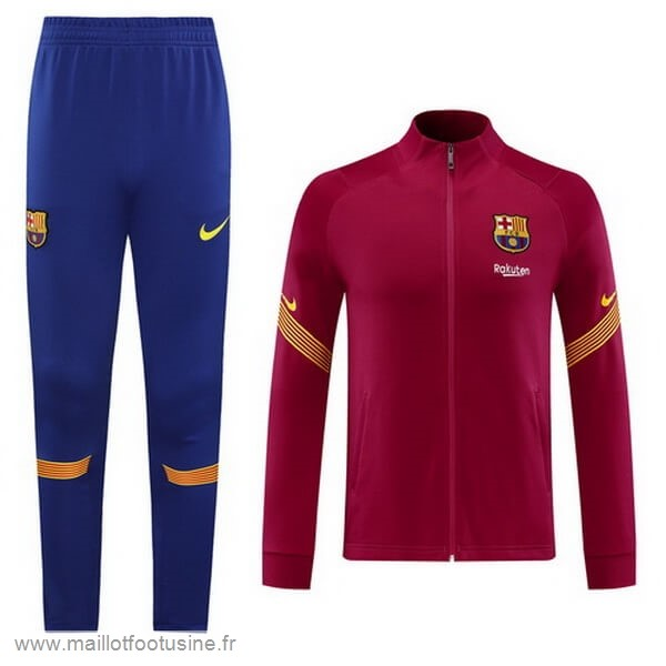 Survêtements Barcelone 2020 2021 Purpura Rouge Discount