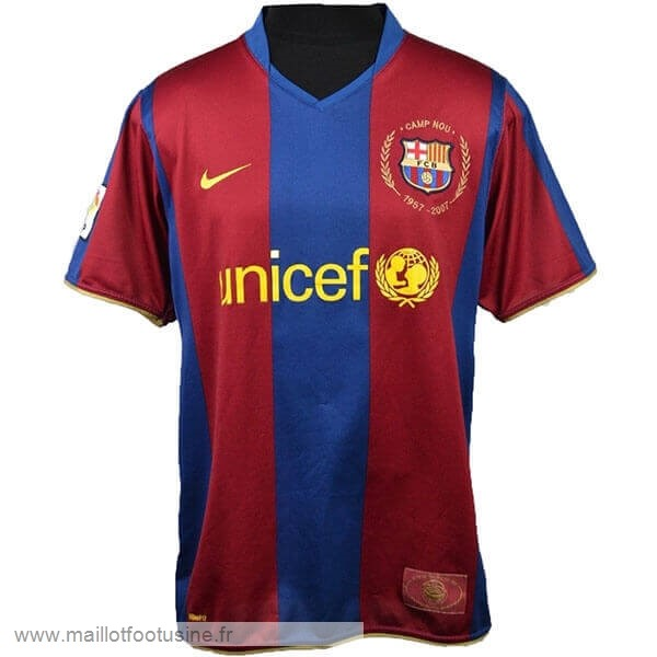 Maillot Barcelone 50th Bleu Rouge Discount