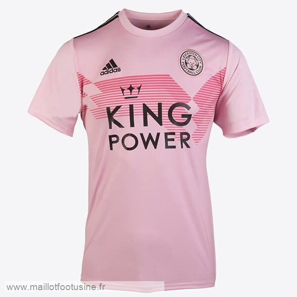 Exterieur Maillot Femme Leicester City 2019 2020 Rose Discount