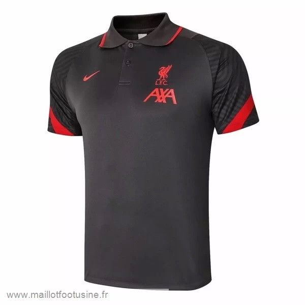 Polo Liverpool 2020 2021 Noir Rouge Discount