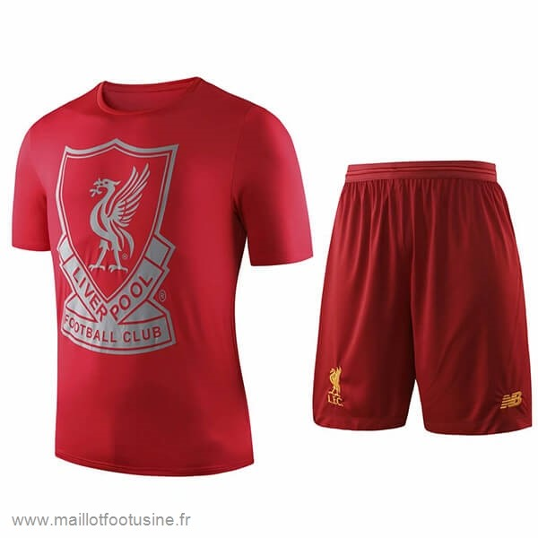 Entrainement Conjunto Completo Liverpool 2019 2020 Rouge Discount