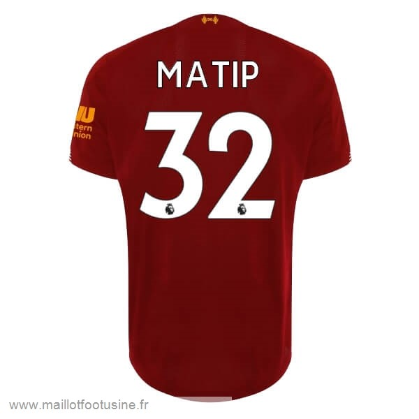 NO.32 Matip Domicile Maillot Liverpool 2019 2020 Rouge Discount
