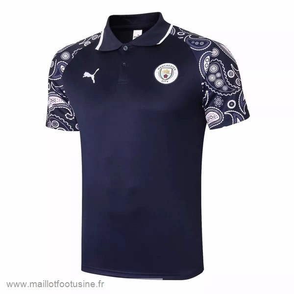 Polo Manchester City 2020 2021 Purpura Noir Discount