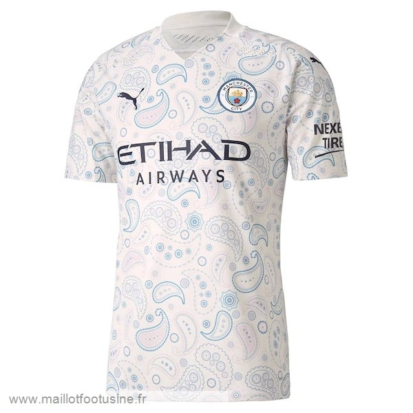 Third Maillot Manchester City 2020 2021 Blanc Discount