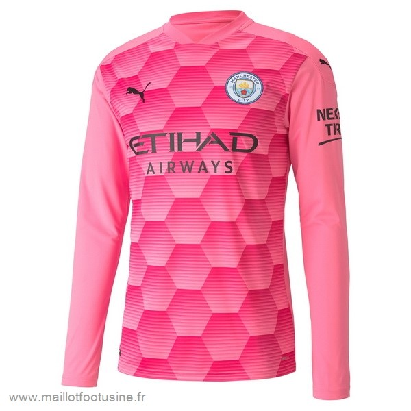 Third Manches Longues Gardien Manchester City 2020 2021 Rose Discount