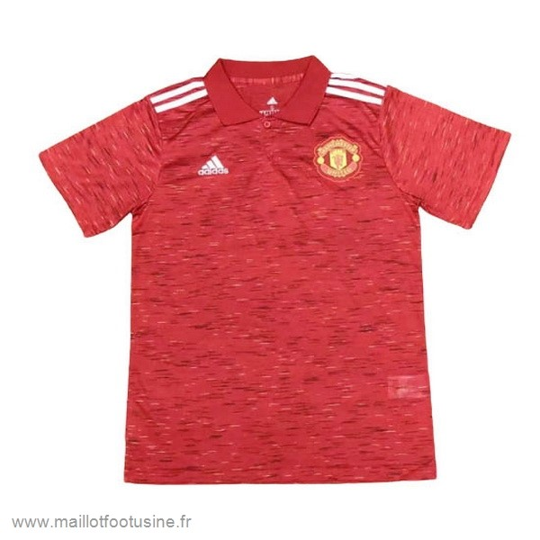 Polo Manchester United 2020 2021 Rouge Discount
