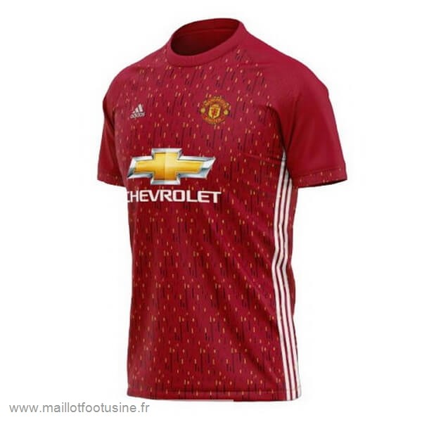Concept Maillot Manchester United 2020 2021 Rouge Discount
