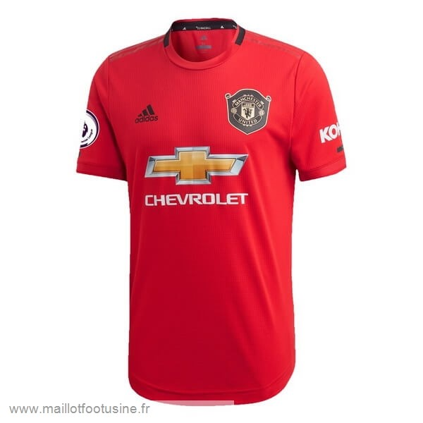 Thailande Domicile Maillot Manchester United 2019 2020 Rouge Discount