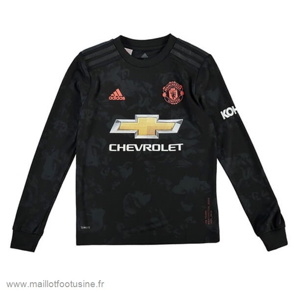 Third Manches Longues Manchester United 2019 2020 Noir Discount