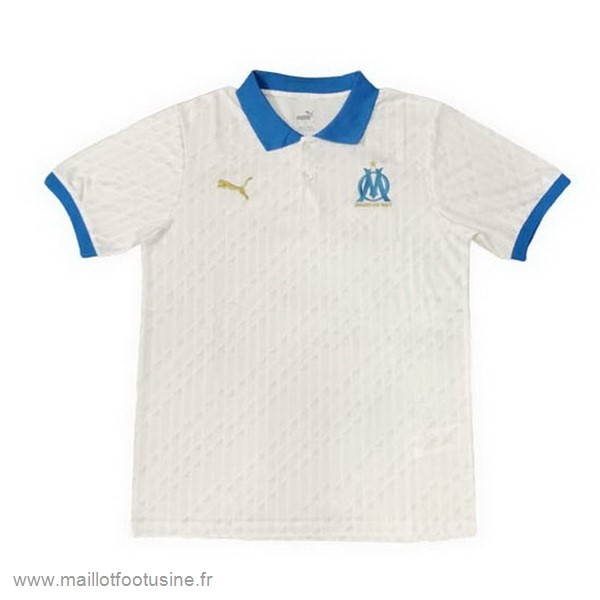 Polo Marseille 2020 2021 Blanc Discount