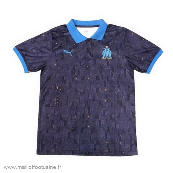 Polo Marseille 2020 2021 Bleu Discount