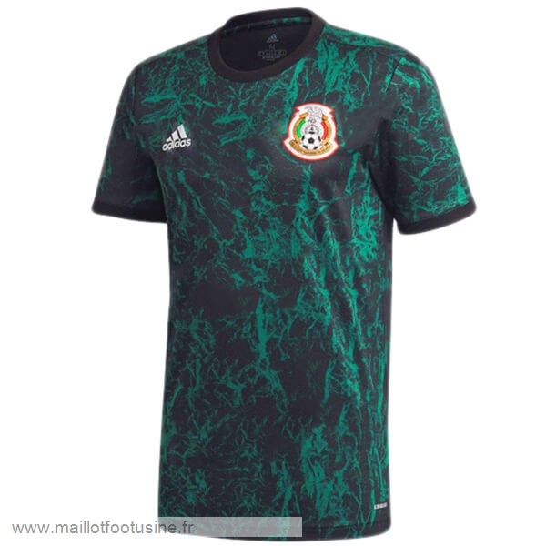 Pre Match Maillot Mexique 2020 Bleu Discount
