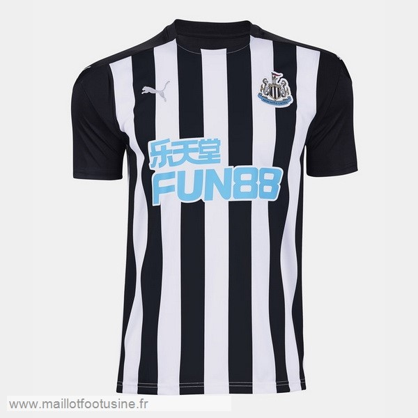 Domicile Maillot Newcastle United 2020 2021 Noir Discount
