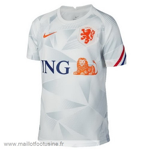 Pre Match Maillot Pays-Bas 2020 Gris Discount