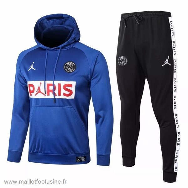 Survêtements Paris Saint Germain 2020 2021 Bleu Blanc Noir Discount