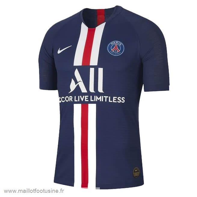 Domicile Maillot Paris Saint Germain 2019 2020 Bleu Discount