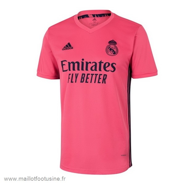 Thailande Exterieur Maillot Real Madrid 2020 2021 Rose Discount