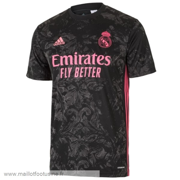 Thailande Third Maillot Real Madrid 2020 2021 Noir Discount