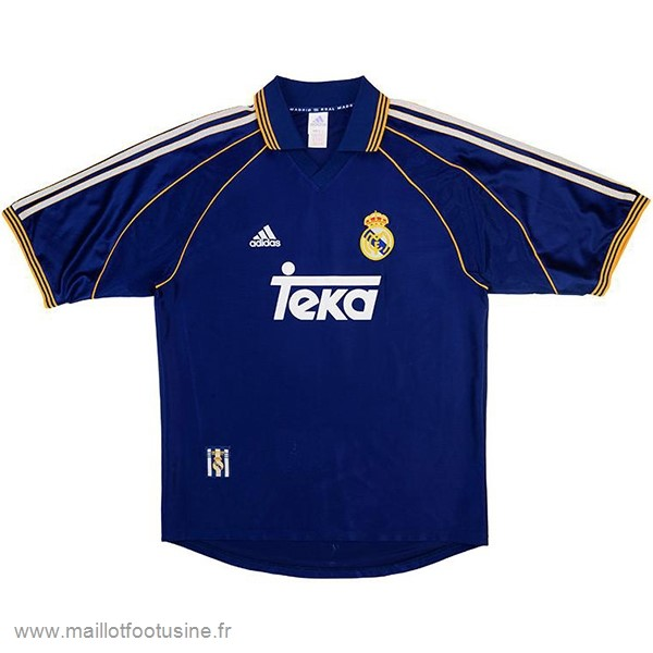 Third Maillot Real Madrid Rétro 1998 1999 Purpura Discount