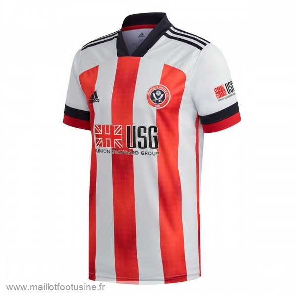 Domicile Maillot Sheffield United 2020 2021 Rouge Discount