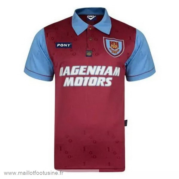 Édition commémorative Maillot West Ham United 100th Rouge Discount